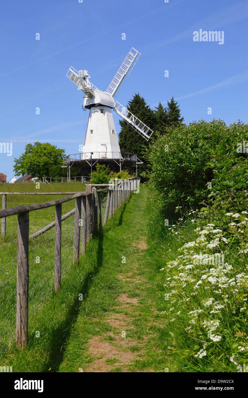 Woodchurch Windmill Kent England UK GB - Stock Image