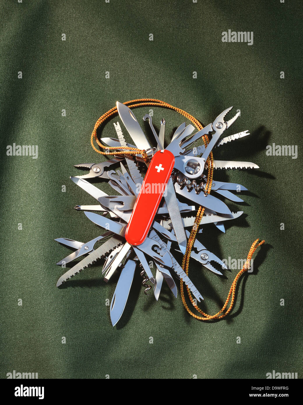 swiss army knife - Stock Image
