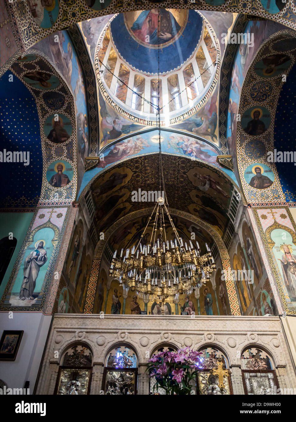 The Sioni Cathedral in Tbilisi, Georgia. Stock Photo