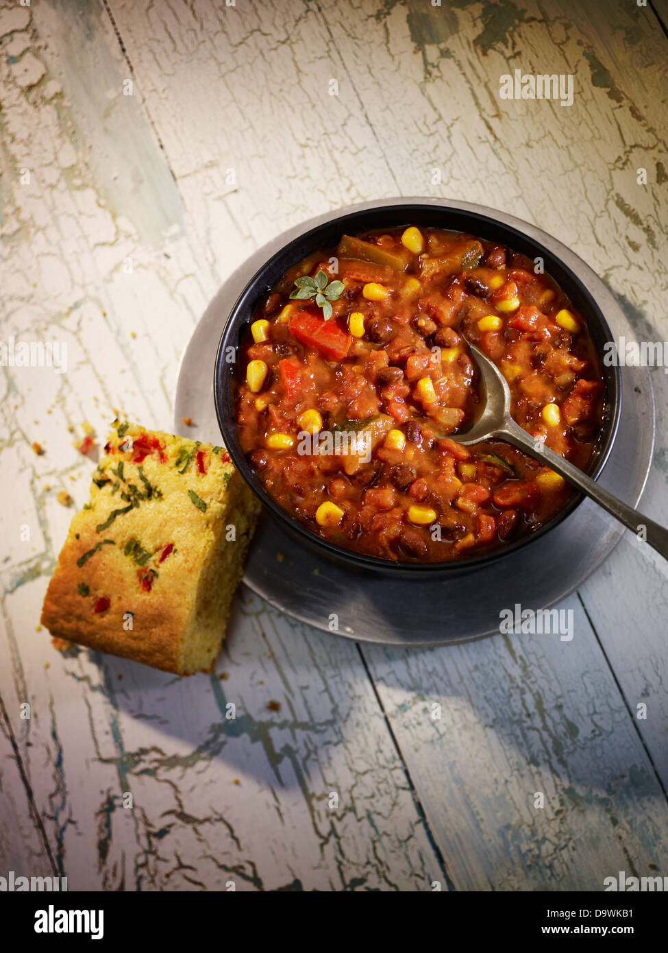 chili beans - Stock Image