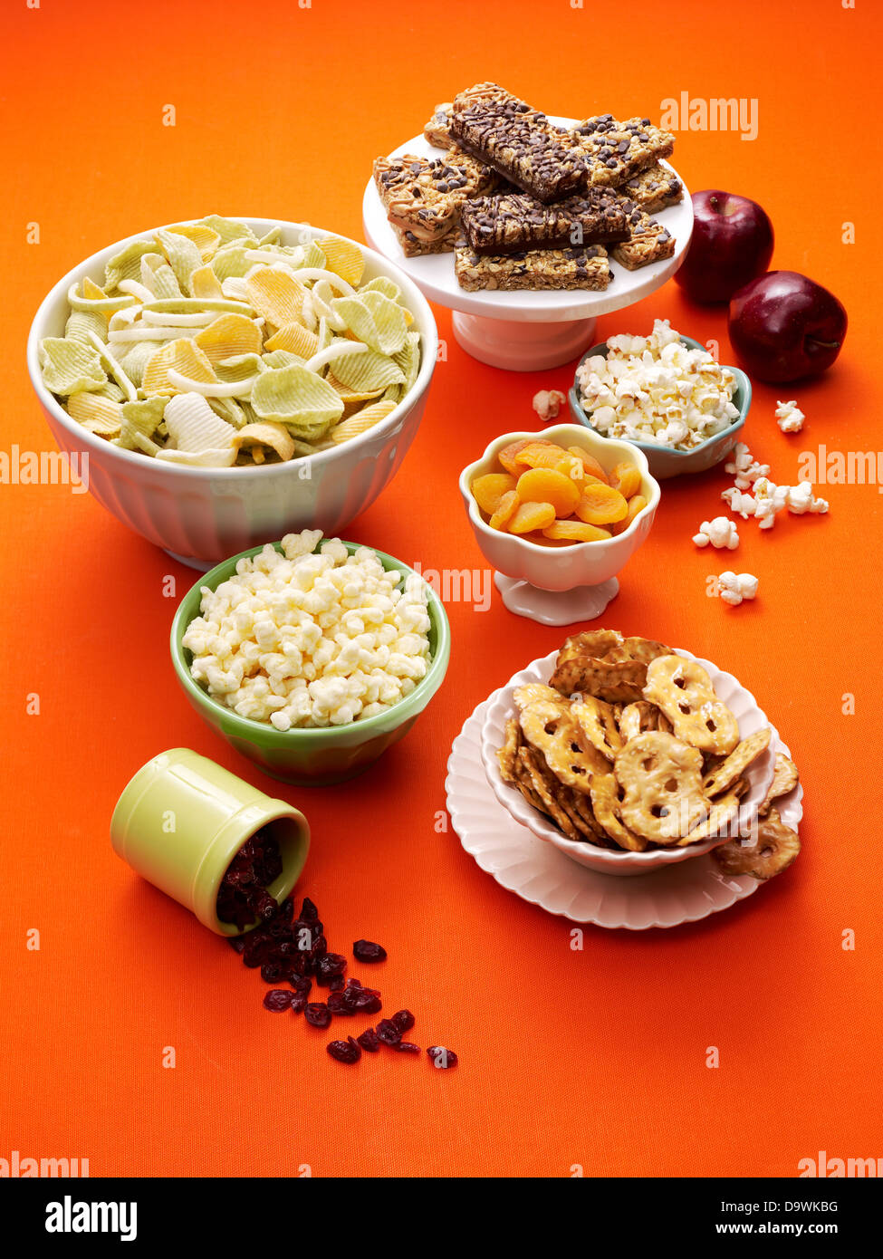 party snacks - Stock Image
