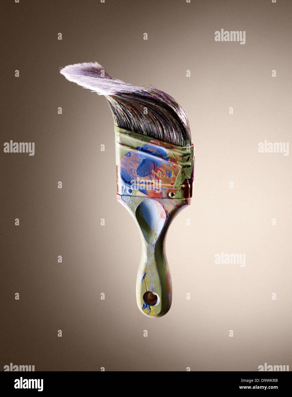 paint brush - Stock Image