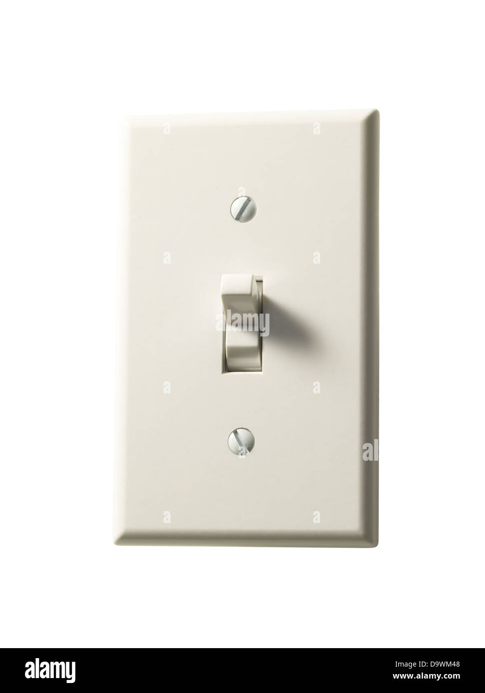 Wall switch - Stock Image