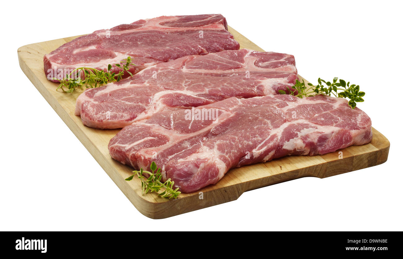 Pork Shoulder Cut Out Stock Images & Pictures - Alamy