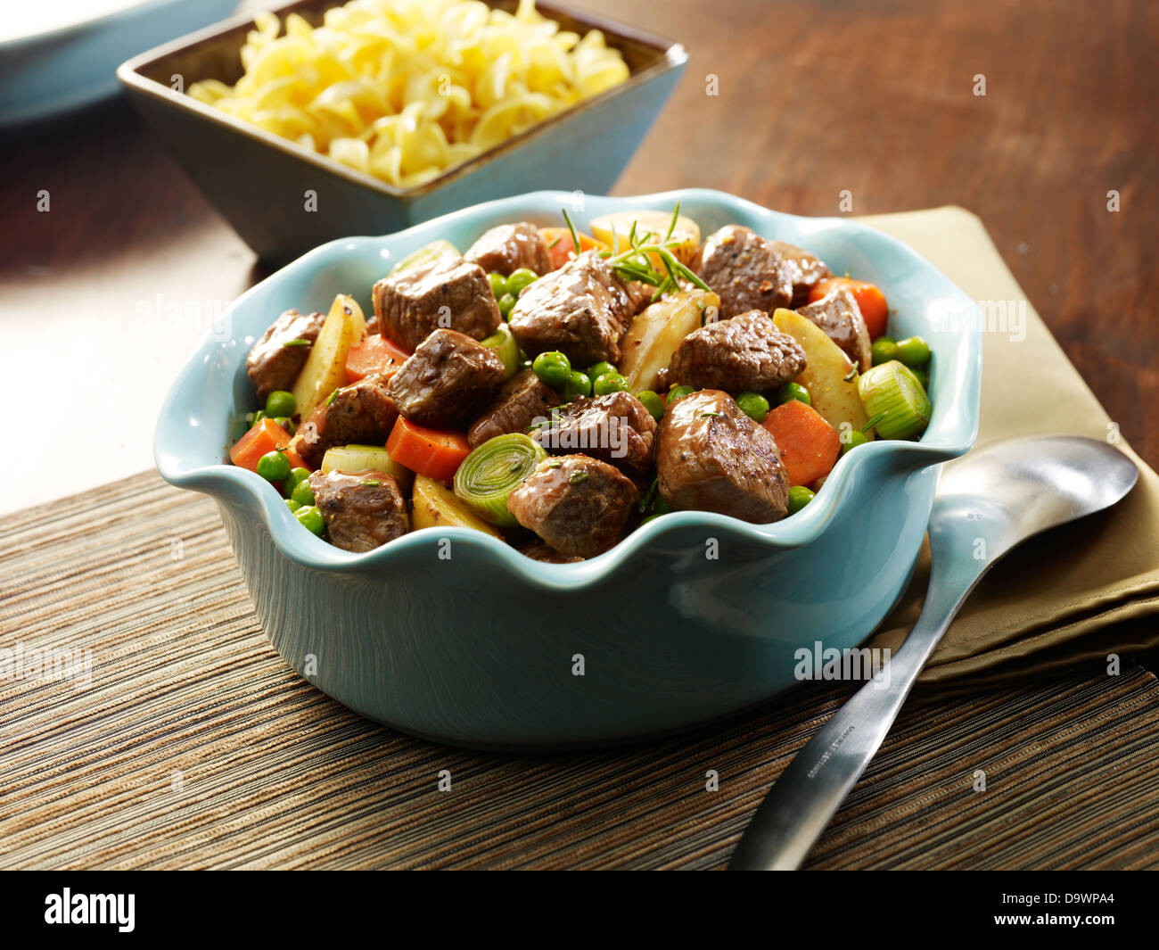 beef stew - Stock Image