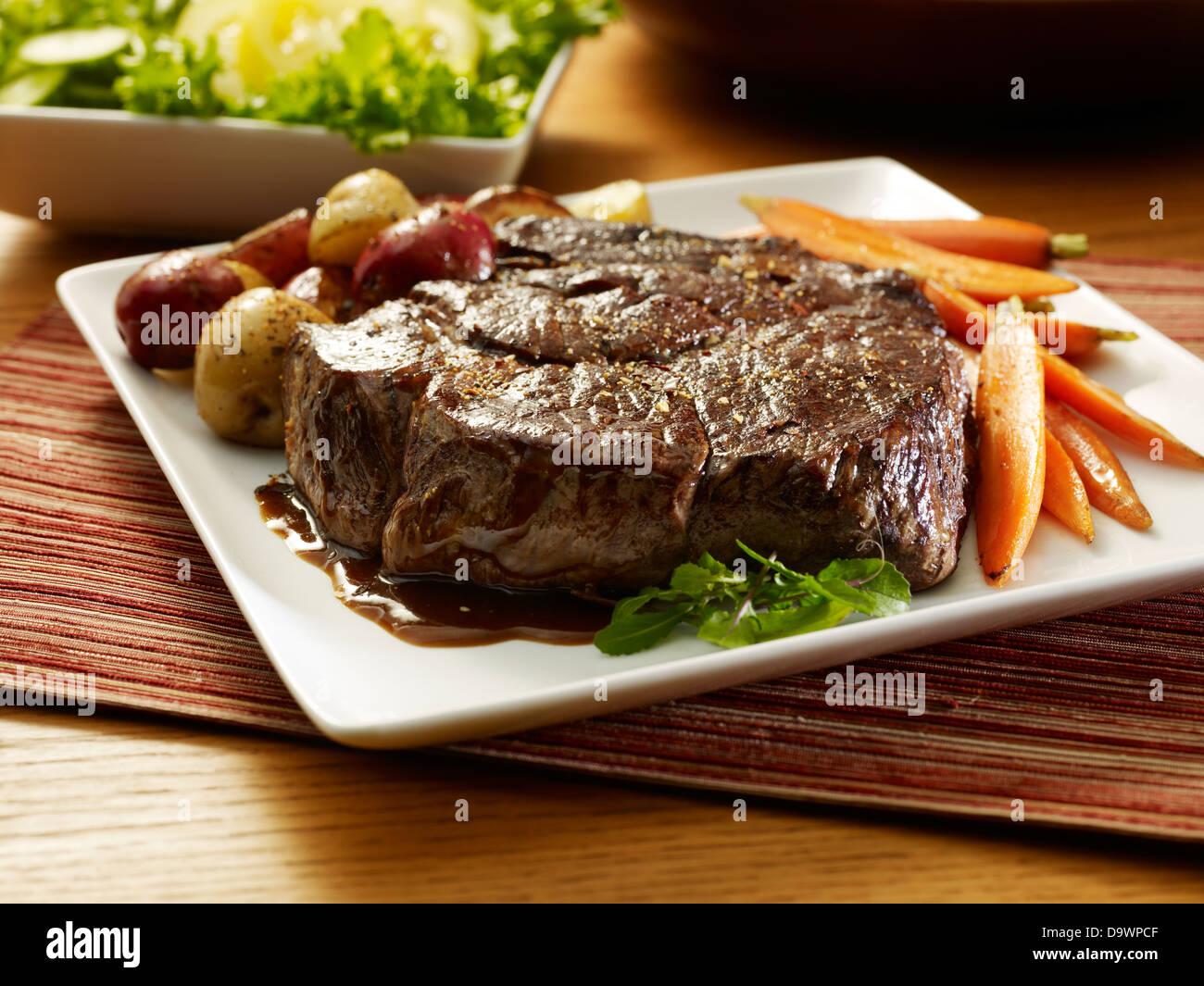 chuck roast - Stock Image