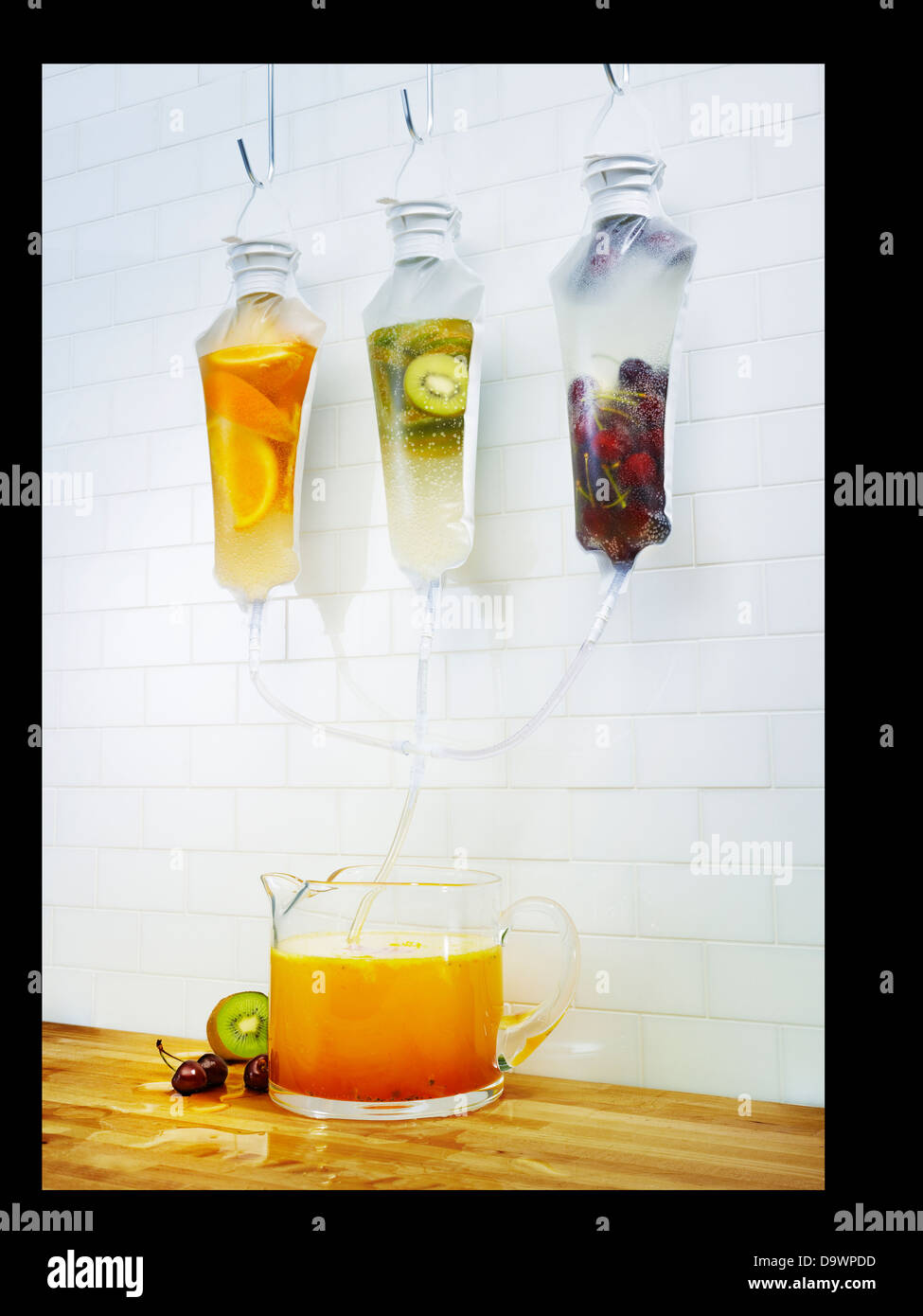 aqua fresca - Stock Image