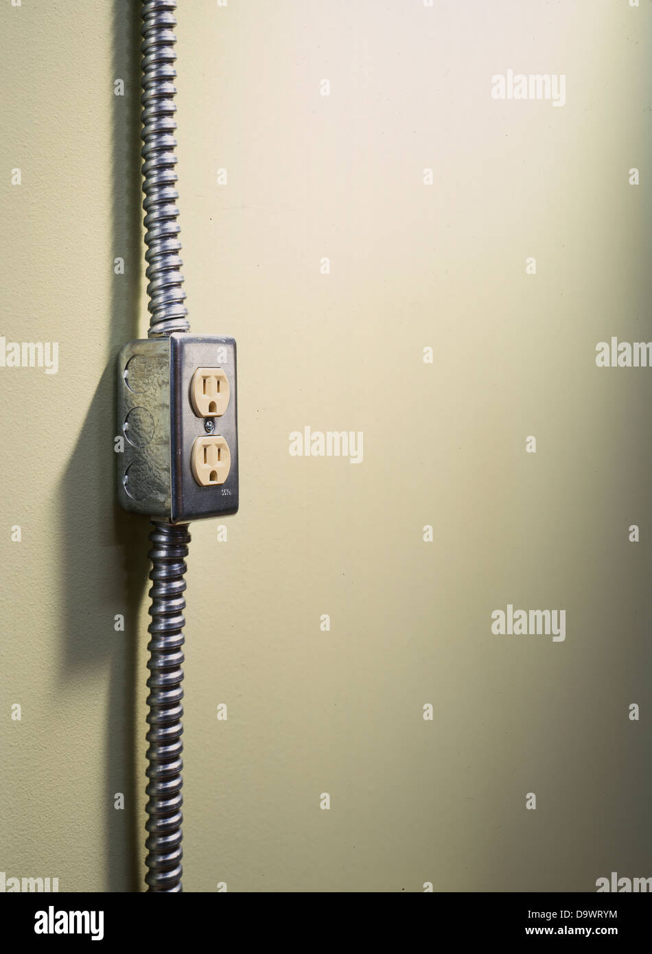 industrial outlet - Stock Image