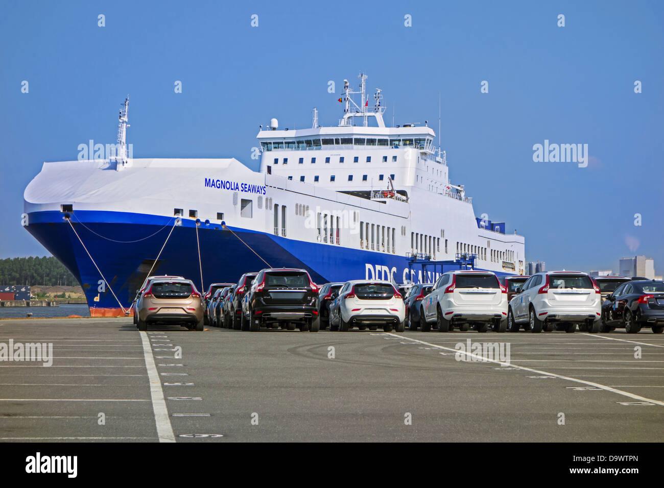 Car Carrier Ship Stock Photos & Car Carrier Ship Stock