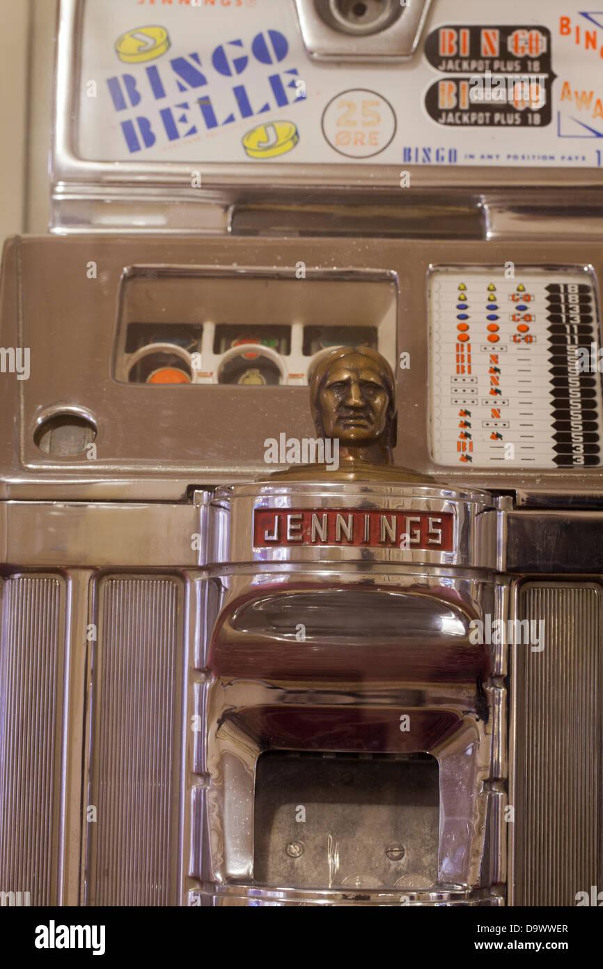 1930 Jennings Slot Machine - Stock Image