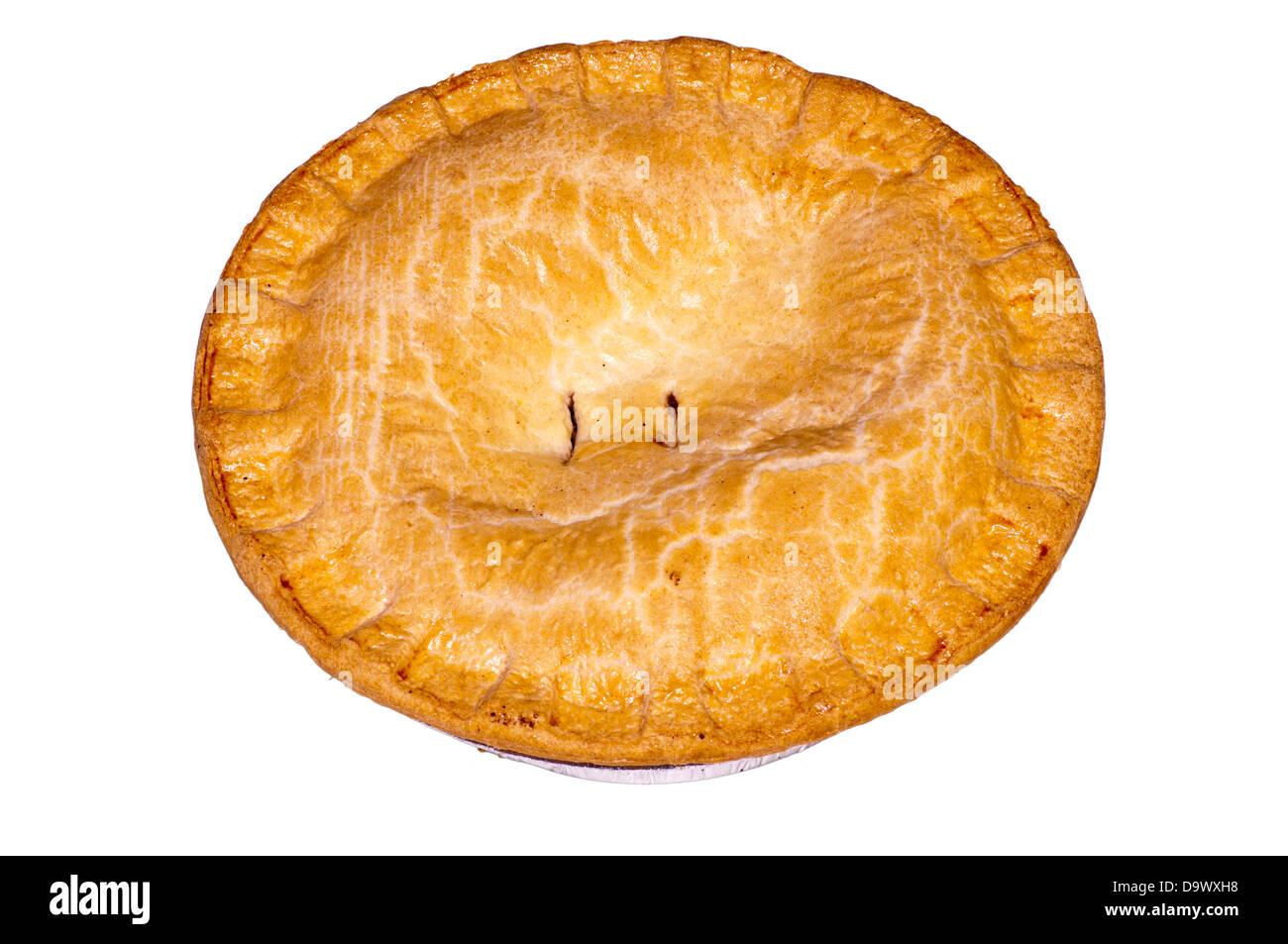 Shortcrust meat Pie - Stock Image
