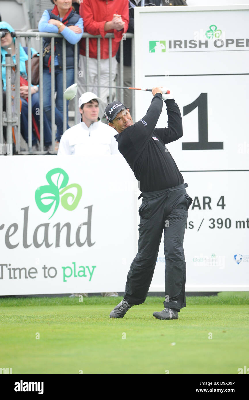 Maynooth, Ireland. 27th June 2013. during the first round of the Irish Open from Carton House Golf Club - Stock Image