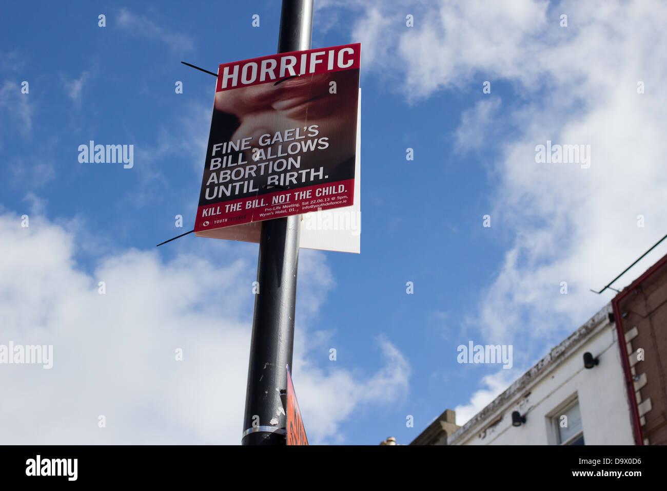 Anti Abortion Poster Stock Photos & Anti Abortion Poster Stock ...