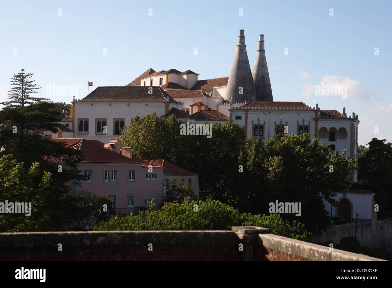 SIntra National Palace Portugal - Stock Image