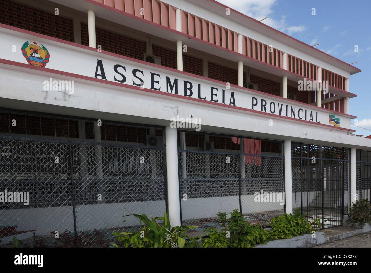 Africa, Mozambique, Inhambane. Provincial Assembly. - Stock Image