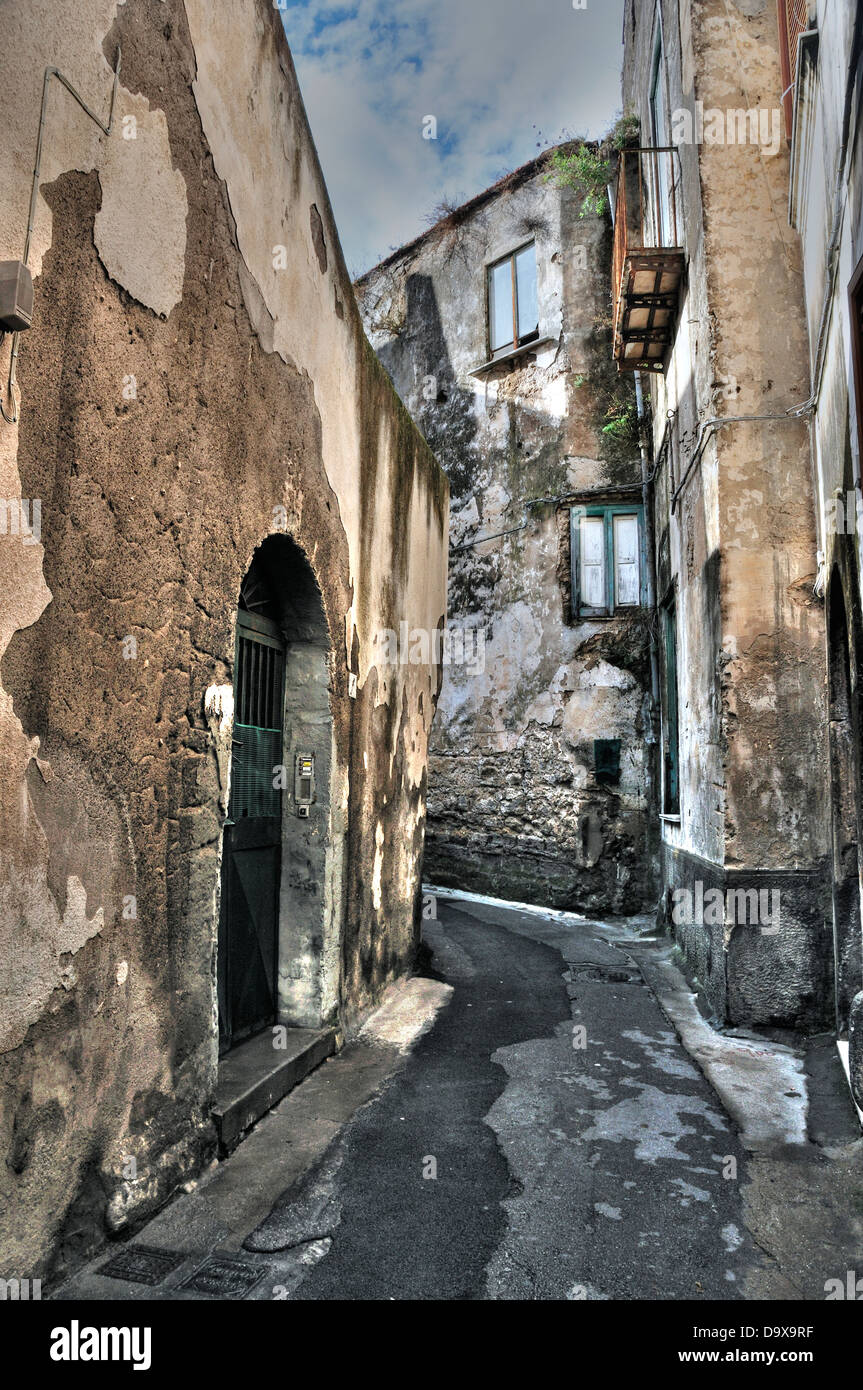 Meta di Sorrento - Alley - Stock Image