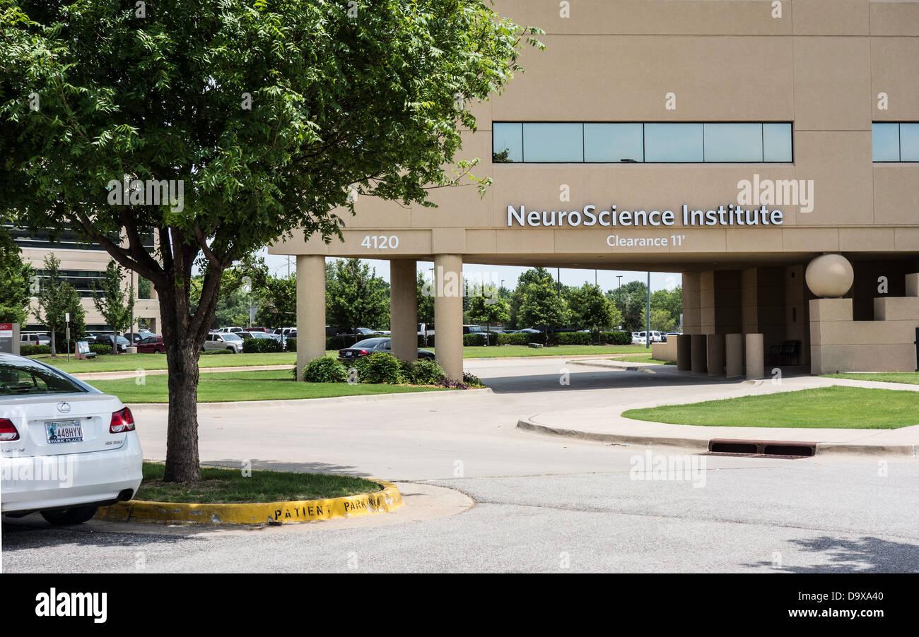 NeuroScience Institute in the Mercy Complex in Oklahoma City, Oklahoma, USA. - Stock Image