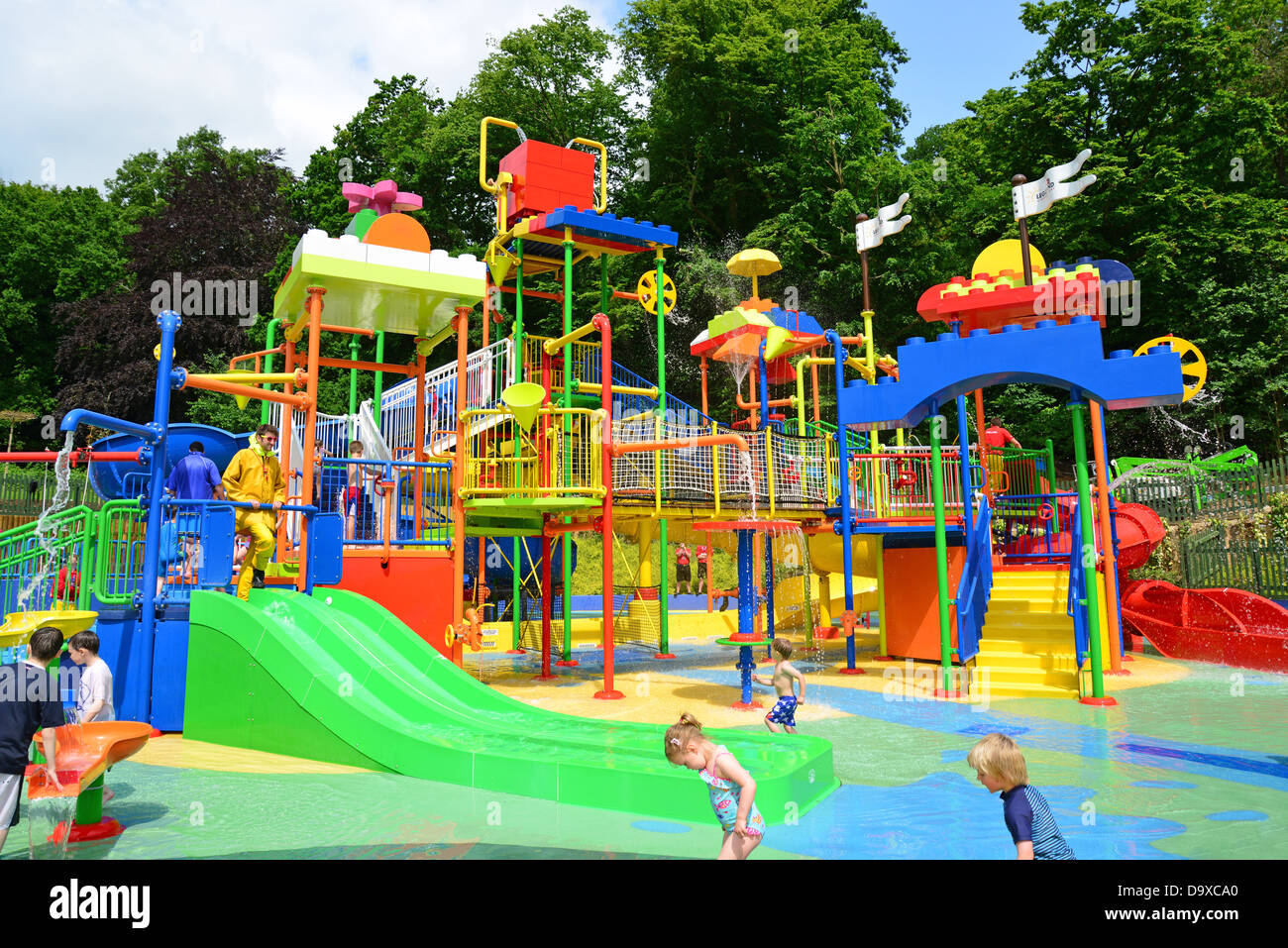 Duplo valley splash play attraction at legoland windsor - Hotels in windsor uk with swimming pool ...