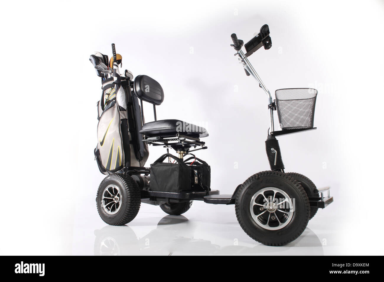 Golf Buggy electric - Stock Image