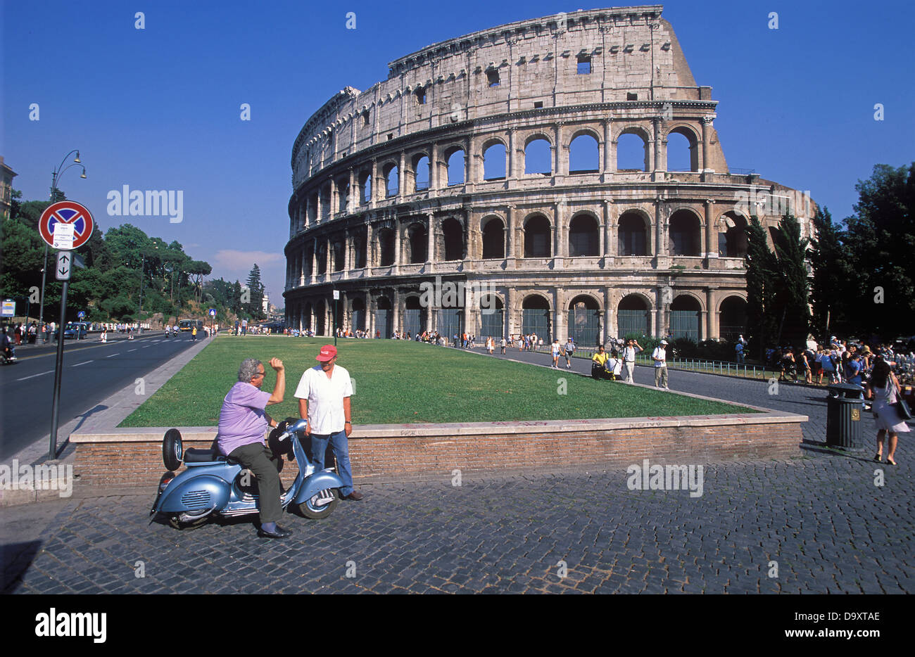 Colosseum Rome Italy - Stock Image