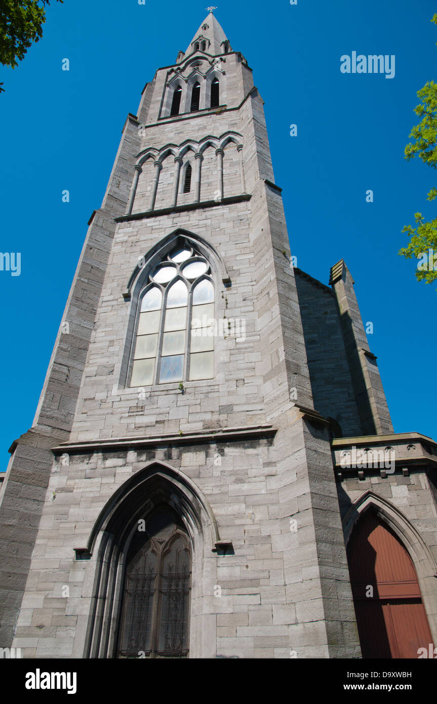 St Lawrence O'Toole church Docklands former harbour area Dublin Ireland Europe - Stock Image