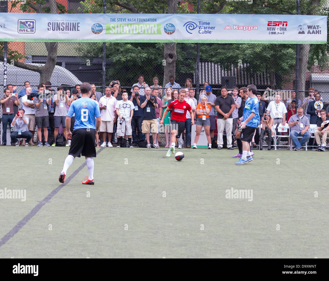 The Sixth Steve Nash Foundation Showdown - Stock Image