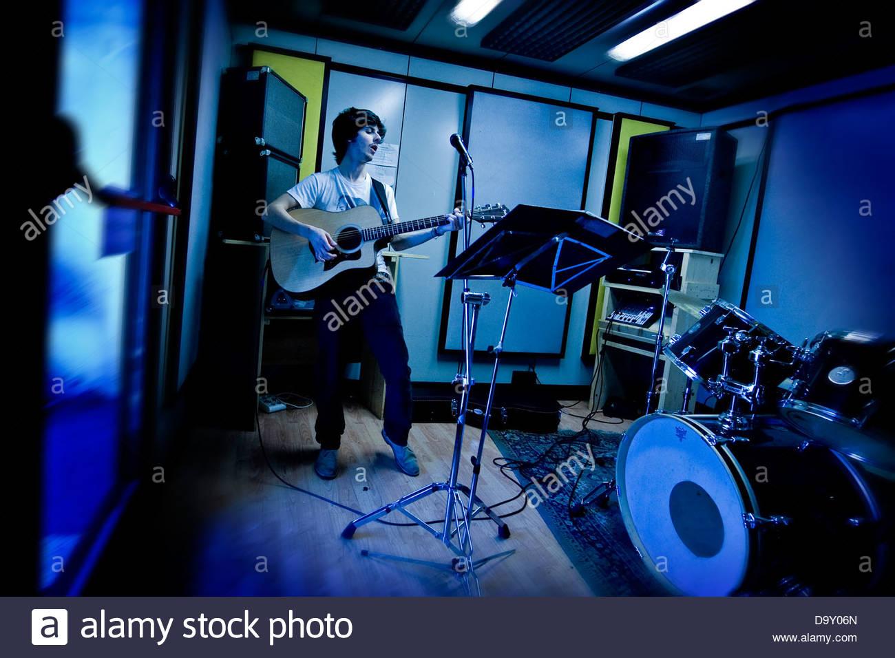 Music Practice Room Stock Photo 57755901 Alamy