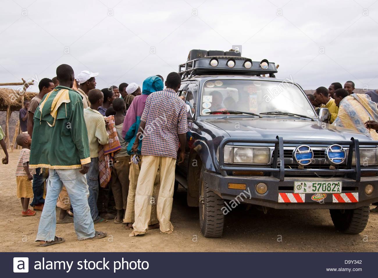 El Sod,Ethiopia - Stock Image