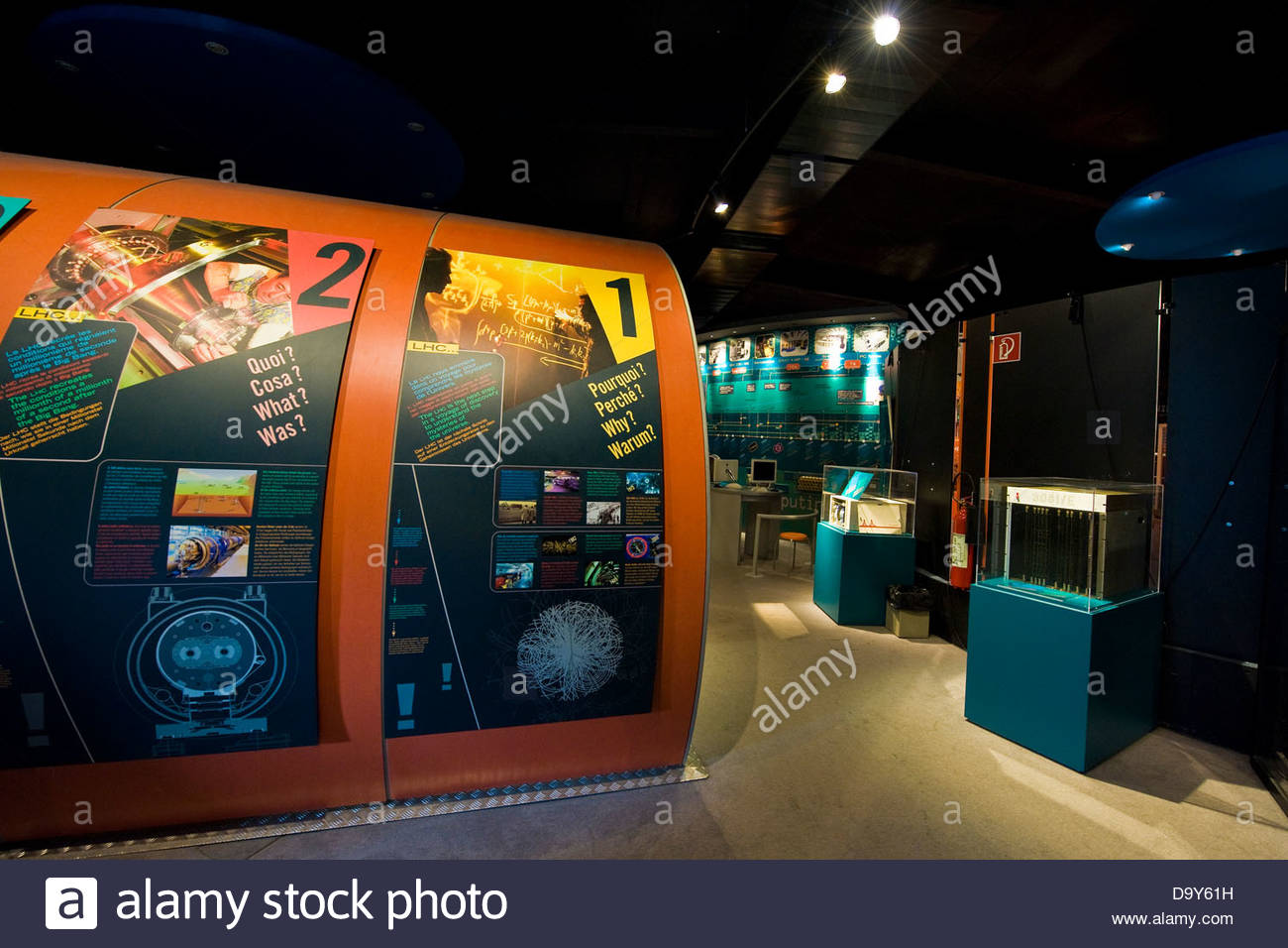 CERN,European Organization for Nuclear Research,Geneva,Switzerland - Stock Image