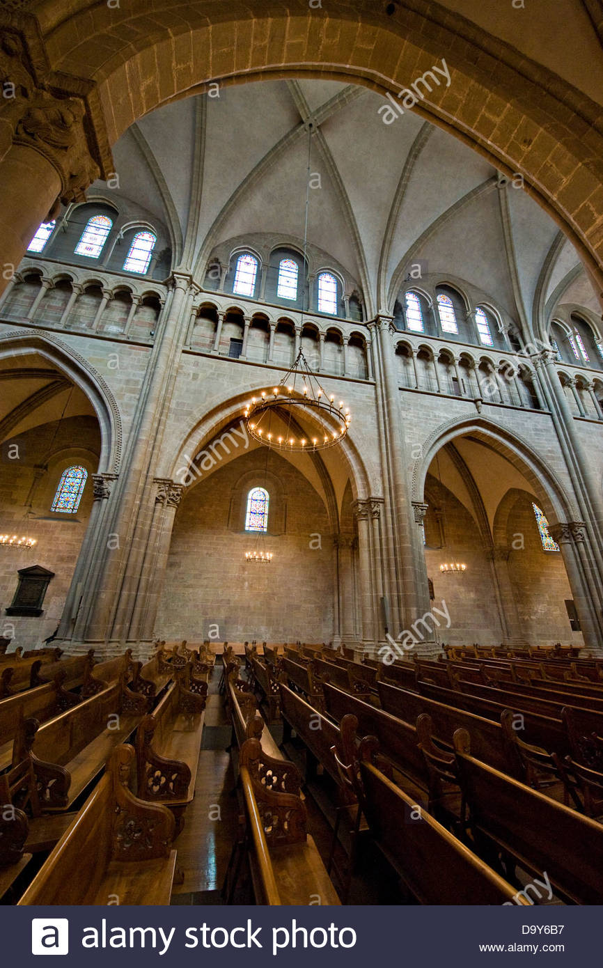 Saint Pierre Cathedral,Geneva,Switzerland - Stock Image