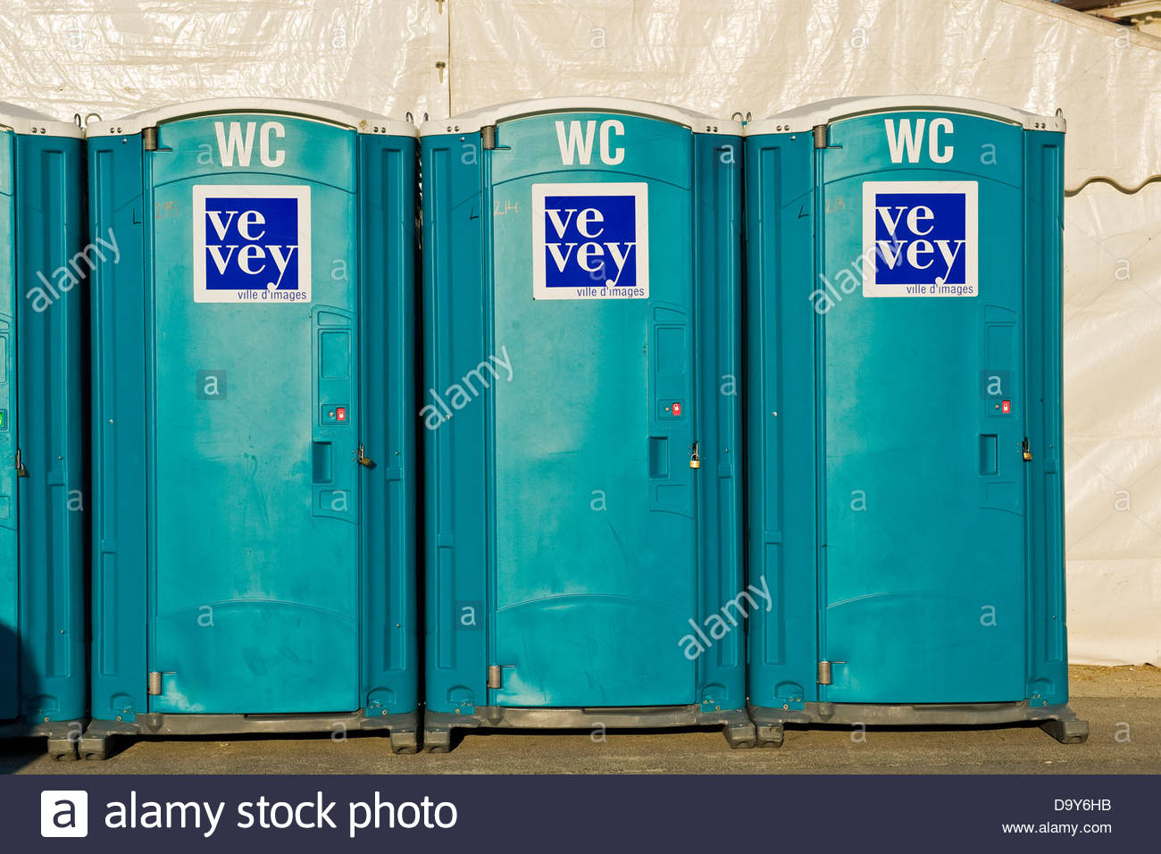 Toilette,Vevey,Switzerland - Stock Image