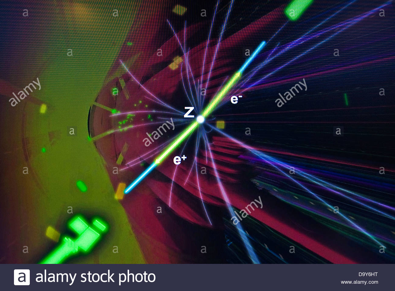 CERN,European Organization for Nuclear Research,Geneva,Switzerland - Stock Image