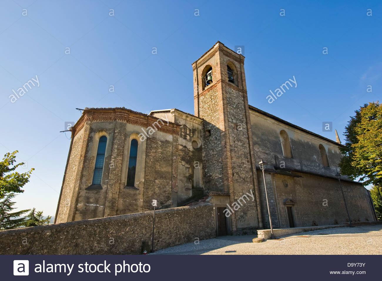Convento dell'Annunciata,Convent of the Announced,Rovato,Franciacorta,Lombardy,Italy - Stock Image