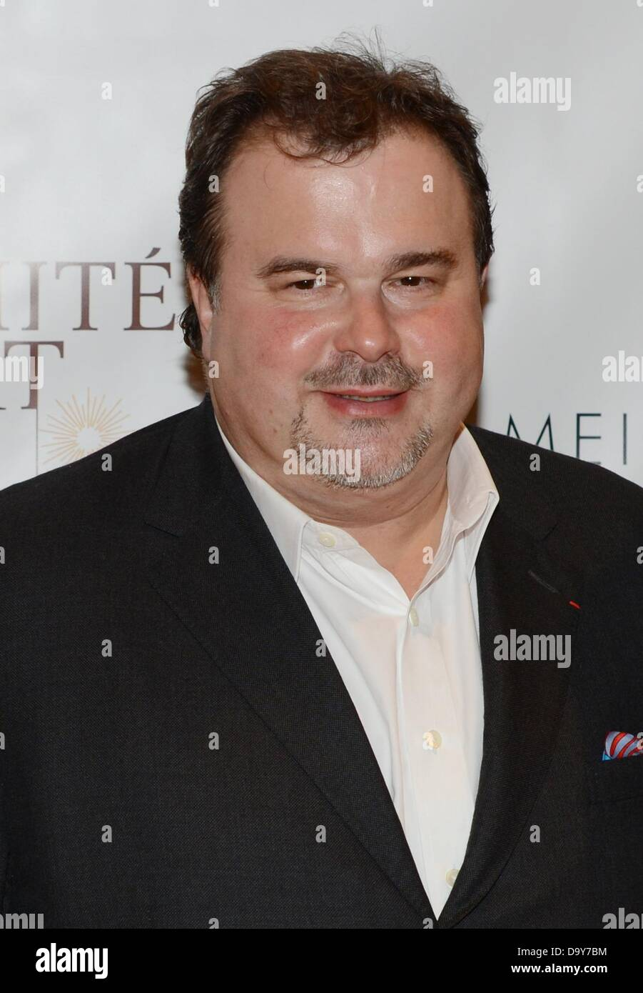 Pierre Hermé, French star confectioner, is pictured during a statement round of the German association of luxury - Stock Image