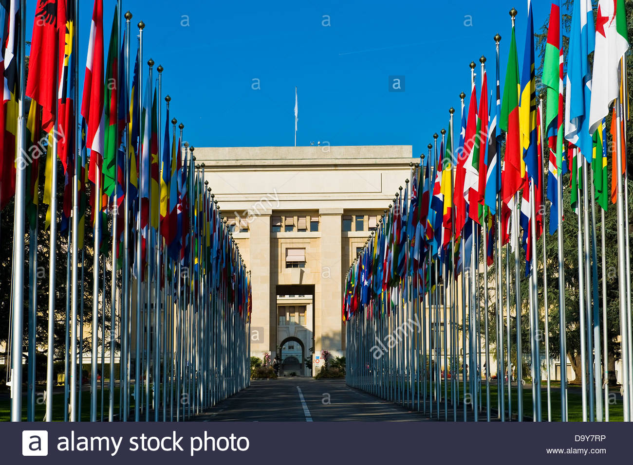 United Nations,Geneva,Switzerland - Stock Image