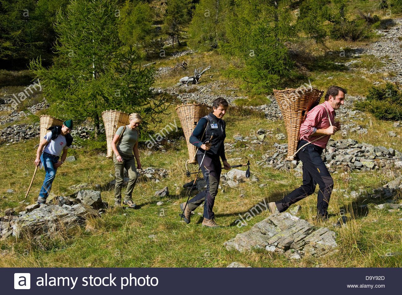 The rebels in the mountains,Brembana valley,Lombardy,Italy Stock Photo