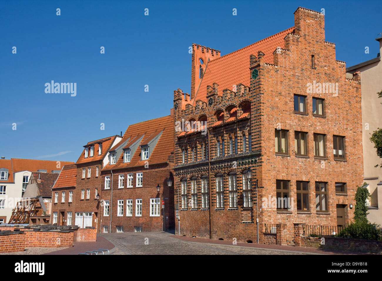 Europe, Germany, Mecklenburg-Western Pomerania, Wismar, Archidiakonat - Stock Image