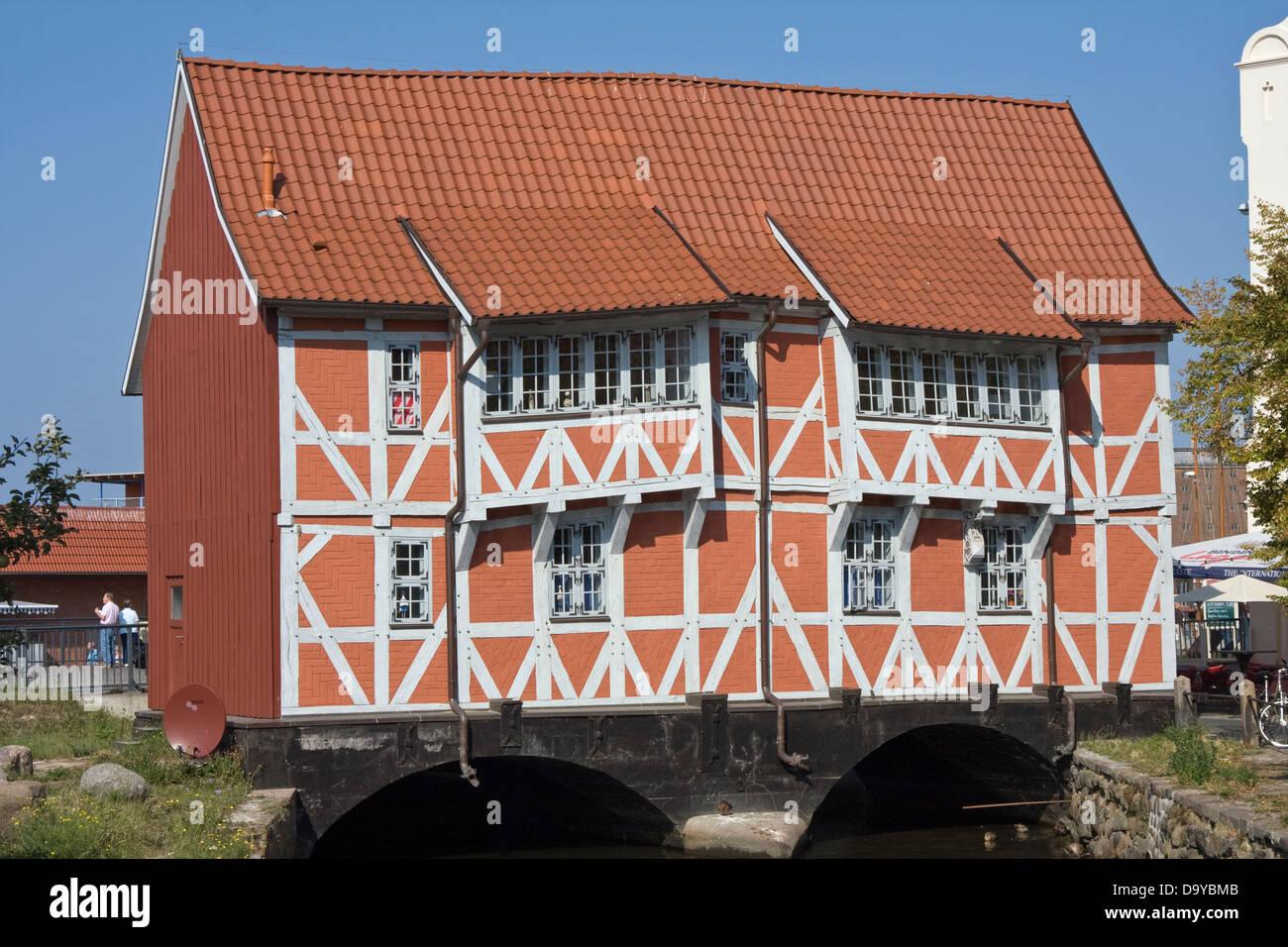 Europe, Germany, Mecklenburg-Vorpommern, Wismar,Gewölbe - Stock Image