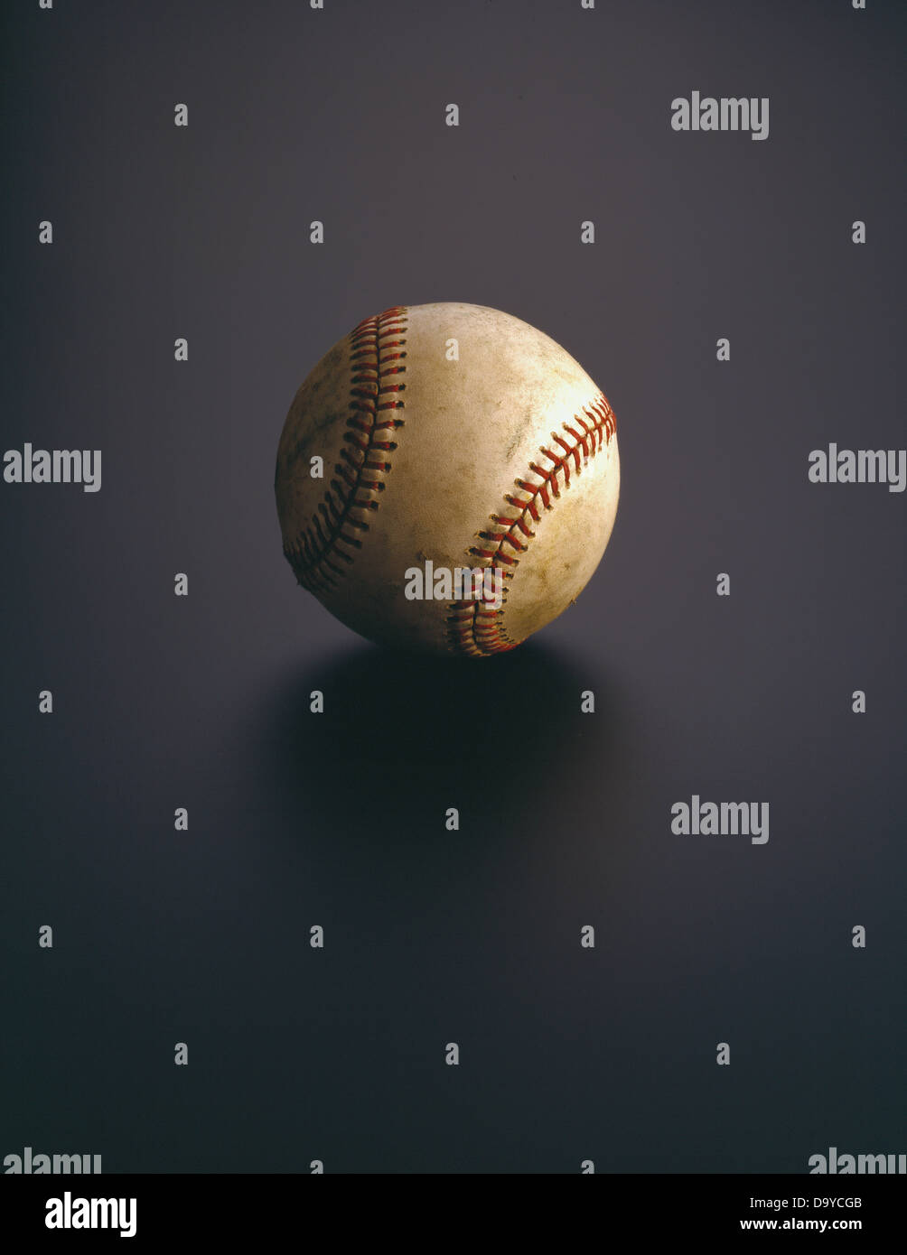 Old Baseball - Stock Image
