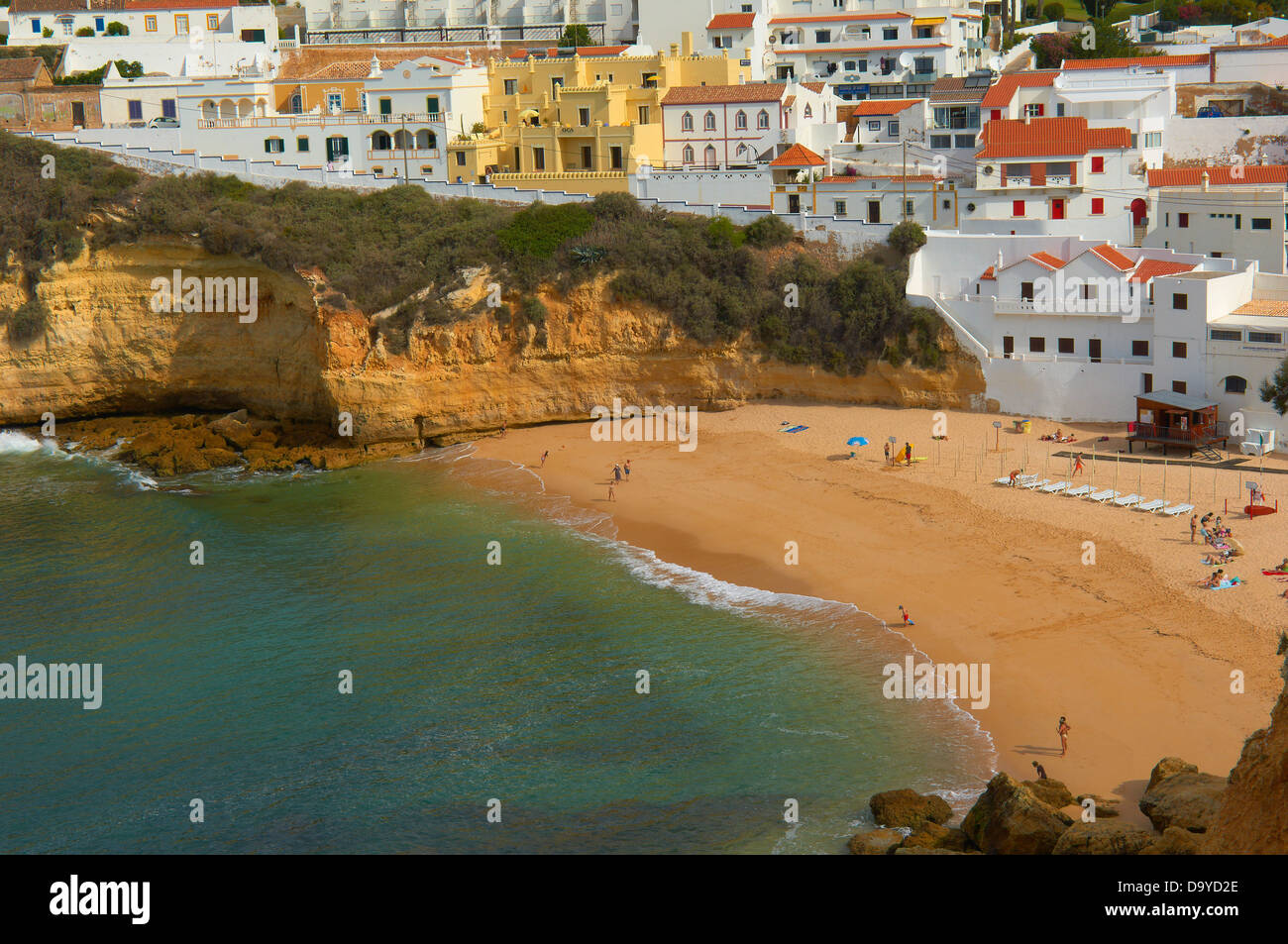Carvoeiro, Lagoa, Algarve, Portugal, Europe Stock Photo