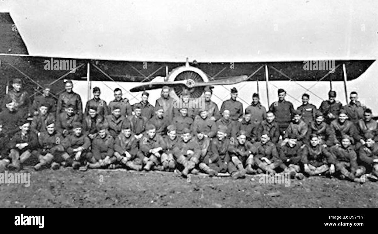 186th Aero Squadron - Stock Image