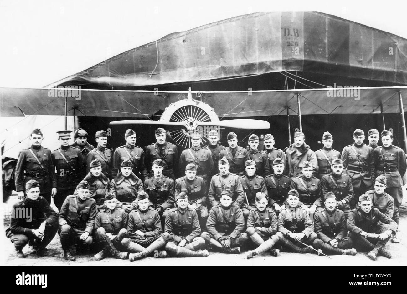 24th Aero Squadron - Stock Image