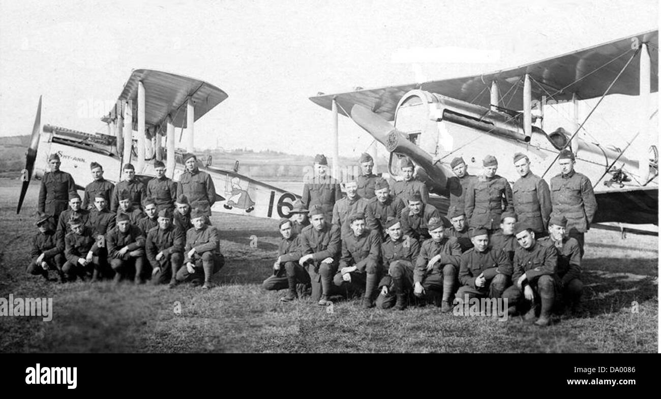 50th Aero Squadron - Stock Image
