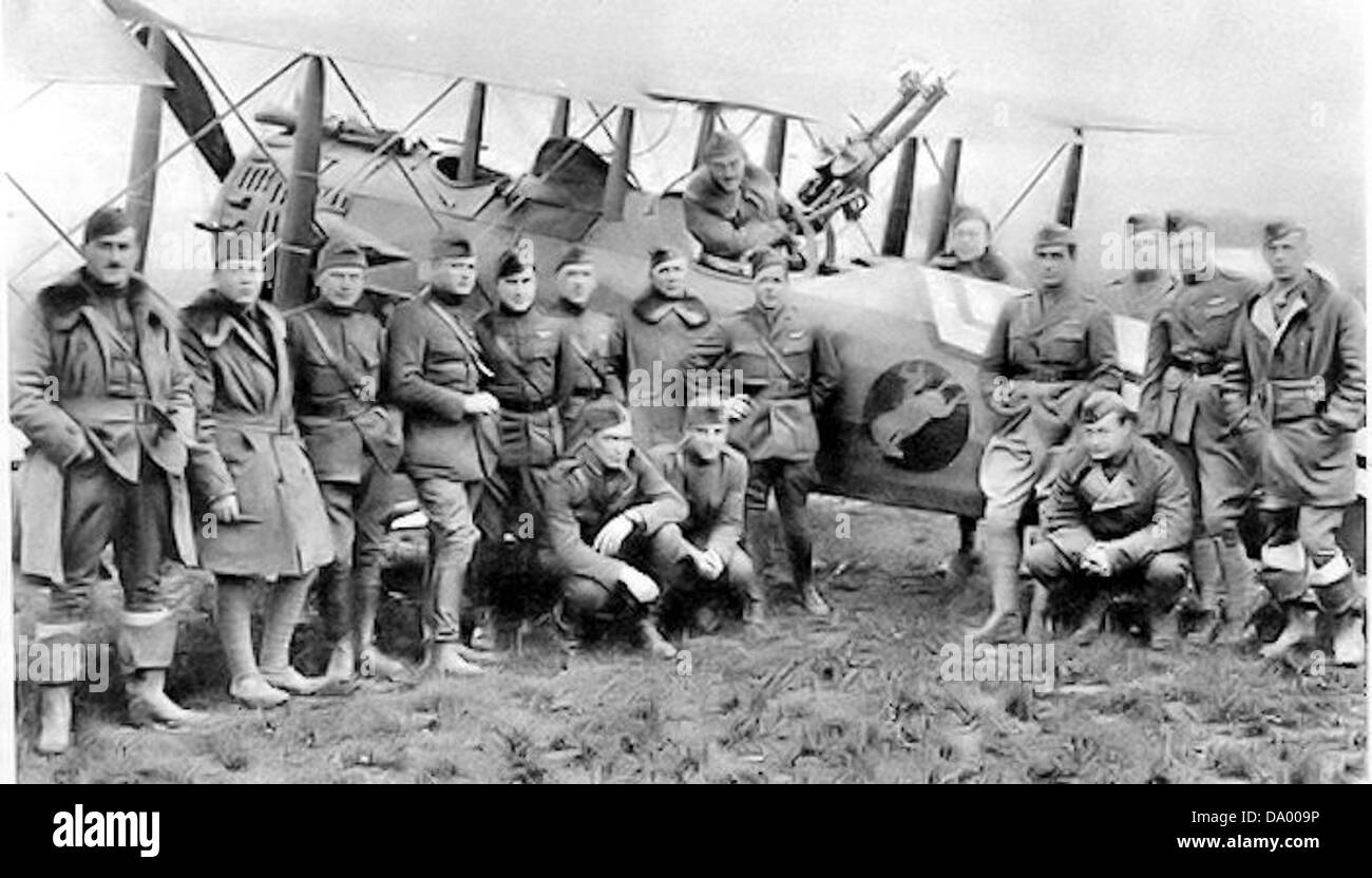 88th Aero Squadron - Stock Image