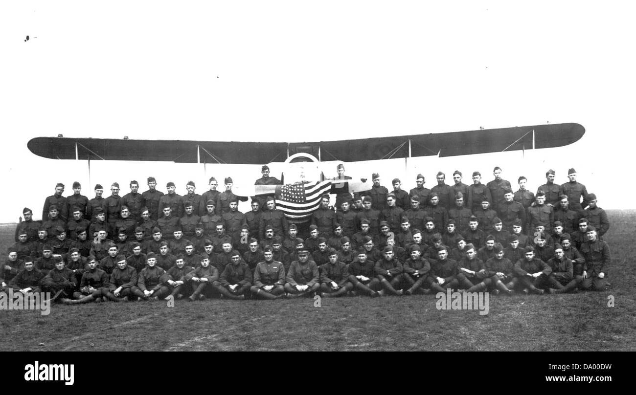 8th Aero Squadron - AEF - Stock Image