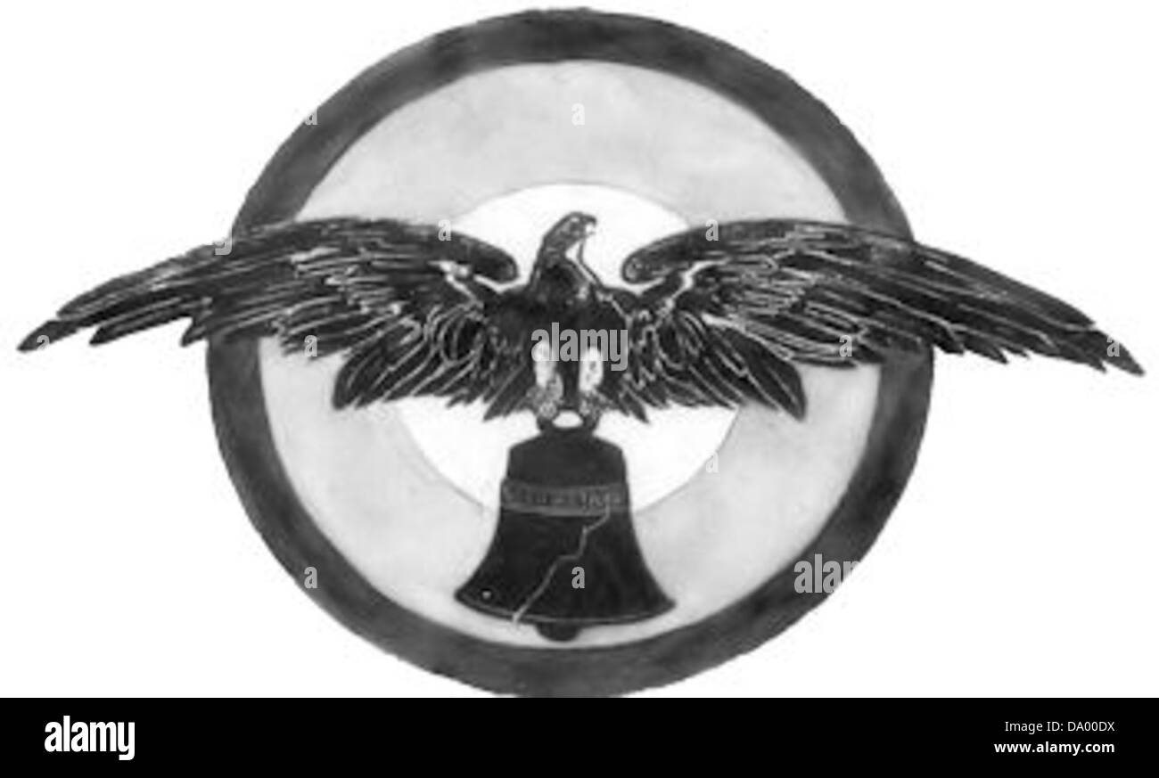 8th Aero Squadron - Emblem - Stock Image