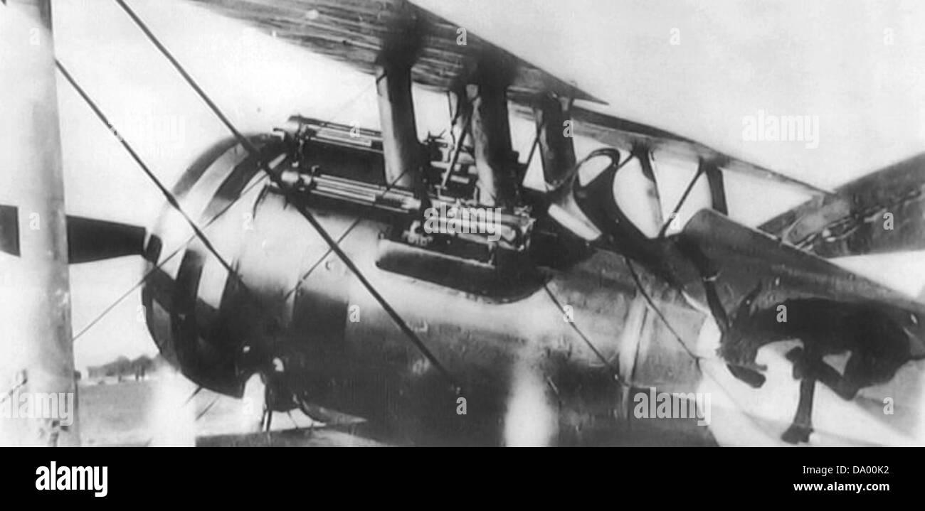 95th Aero Squadron - Nieuport 28 - Stock Image