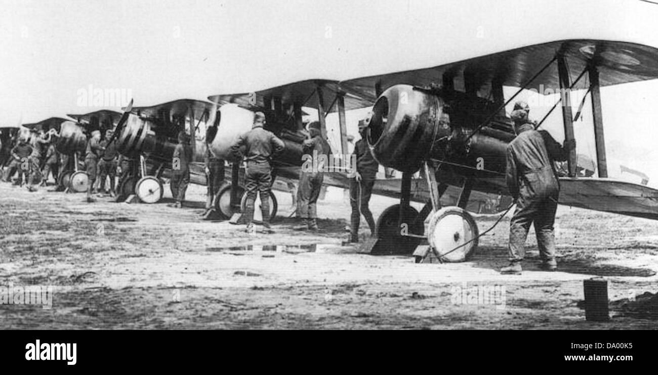 95th Aero Squadron - Nieuport 28 -2 - Stock Image