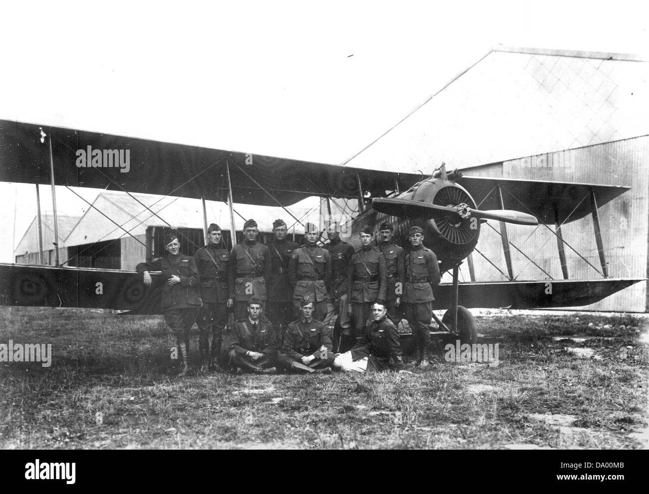 99th Aero Squadron - Stock Image