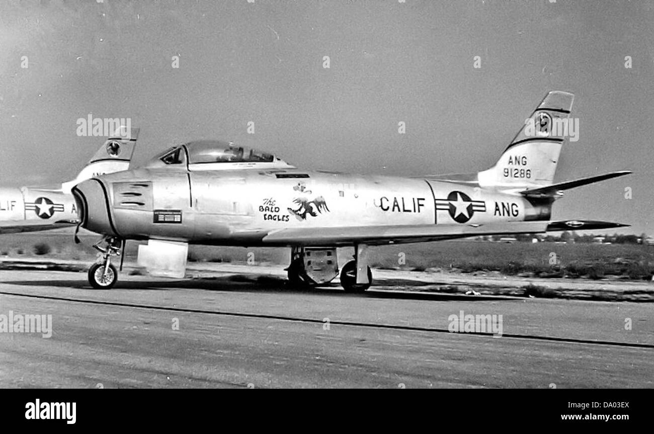 194th Fighter-Bomber Squadron - North American F-86A-5-NA Sabre 49-1286